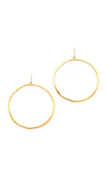 Gorjana G Ring Earrings in gold