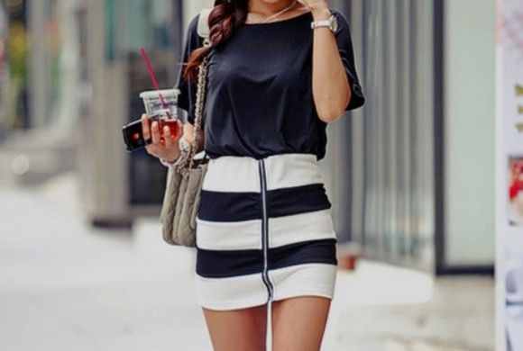 white pretty beauty beautiful girly black skirt
