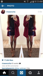 dress,navy blue sweater,red sweater,white polo