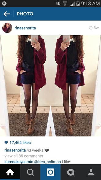 dress navy blue sweater red sweater white polo