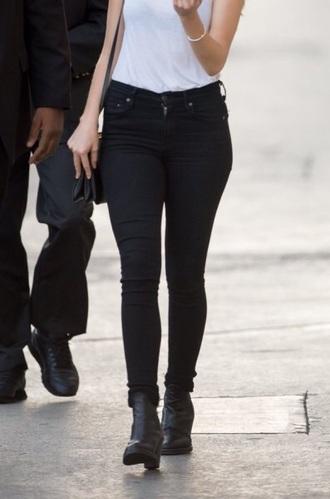 jeans black alycia denam carey