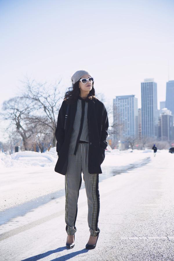 chicityfashion shirt pants coat sunglasses shoes bag jewels hat
