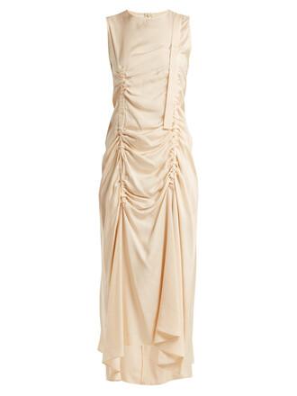 dress silk cream