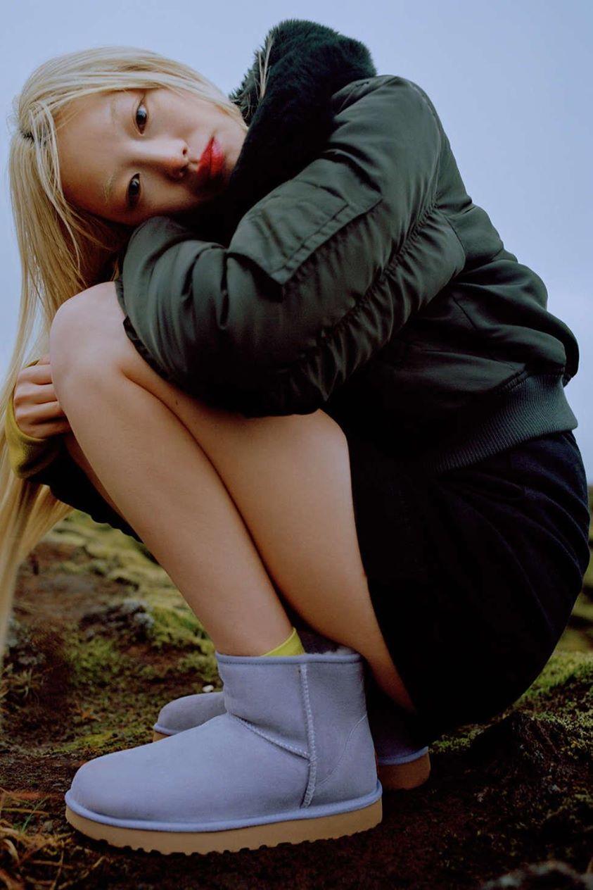 UGG UO Exclusive Classic Mini II Ankle Boot