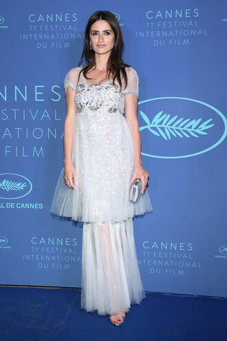 dress gown prom dress wedding dress penelope cruz cannes
