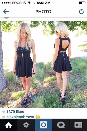 heart little black dress black dress mini dress black dress cut off dress skater skater dress zipper blonde hair two peice heart shape cute dress