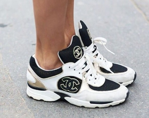 Shoes Chanel Sneakers Wheretoget