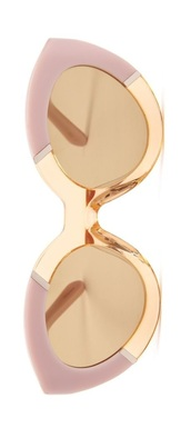 sunglasses,pink,gold