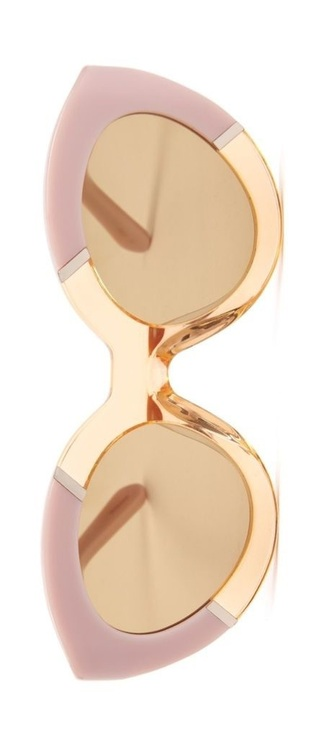 sunglasses pink gold
