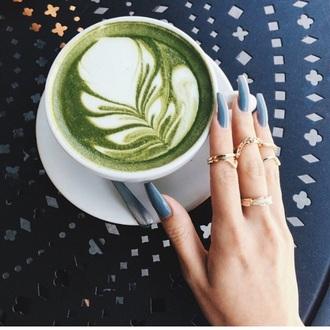 nail polish blue nails instagram