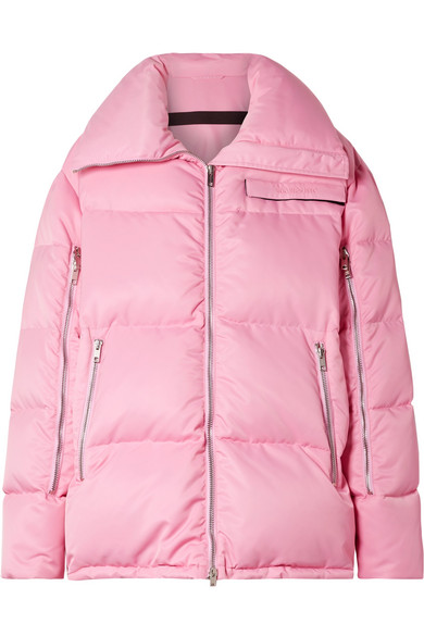 CALVIN KLEIN 205W39NYC - Oversized quilted shell coat