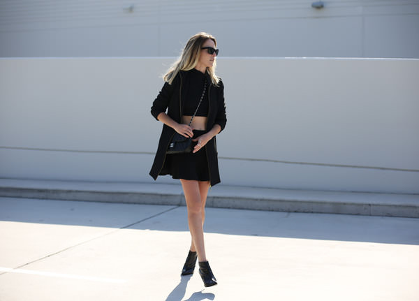oracle fox skirt coat bag shoes sunglasses