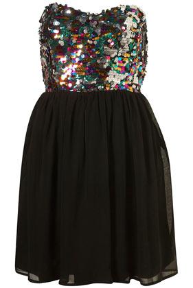 Sequin Babydoll Dress by Rare**  ($50-100) - Svpply
