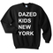 Dazed kids new york sweatshirt - basic tees shop