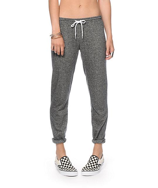 Zine pearson black speckle jogger pants