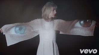 dress taylorswift style music video white dress