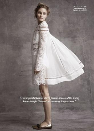 dress olivia palermo white dress boho hipster wedding