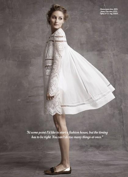 olivia palermo dress white dress boho hipster wedding