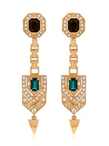 LUISAVIAROMA.COM - MAWI - DROP DECO CREST EARRINGS