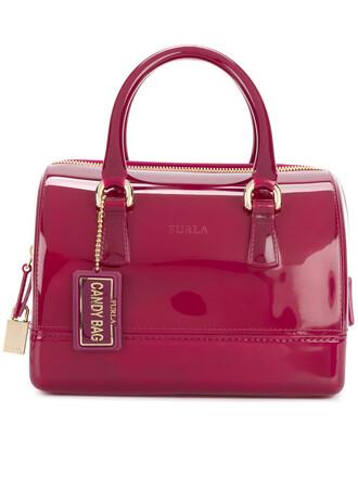 satchel women candy purple pink bag
