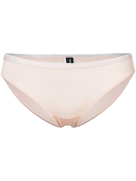 Emporio Armani women spandex nude underwear
