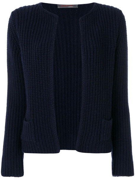 Incentive Cashmere cardigan knitted cardigan cardigan women blue sweater