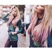romper,green,blue,sequins,sequin romper,blue romper,green romper,mermaid,boho,indie,pink hair,cute,belt