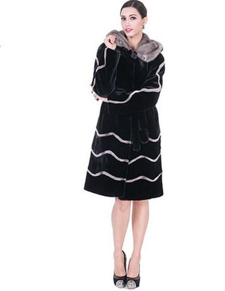 black coat women coat women fur jacket long women coat