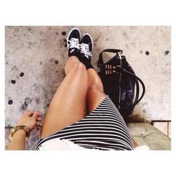 shoes vans tennis shoes skirt wheretoget