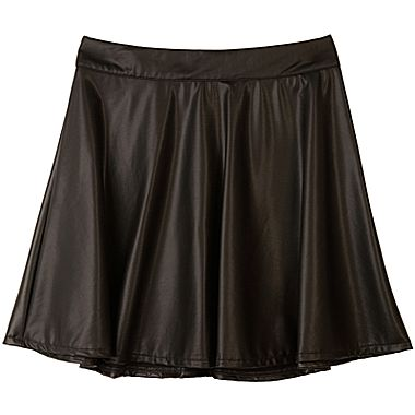 Jcpenney | Pleather Circle Skirt - Girls 7-16
