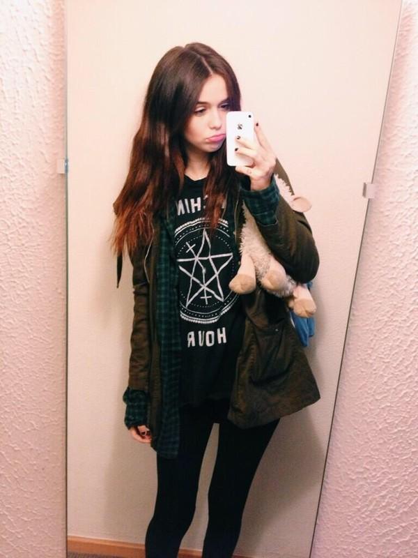 shirt black acacia brinley t-shirt acacia brinley jacket tank top