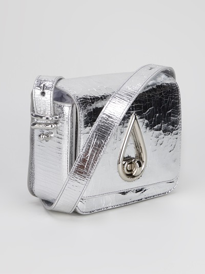Kenzo 'drop' Metallic Shoulder Bag -  - Farfetch.com