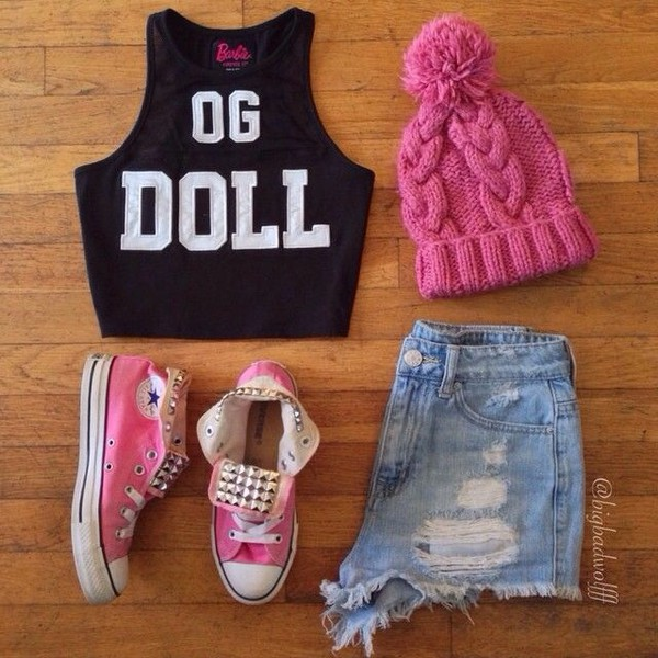 crop tops shirt