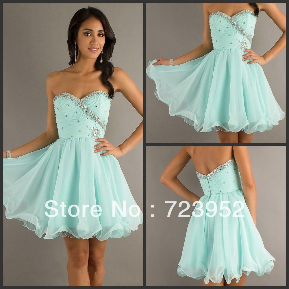 Aliexpress.com : Buy Free Shipping Fashion Sweetheart Organza ...