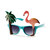 Palm Tree and Flamingo Sunglasses