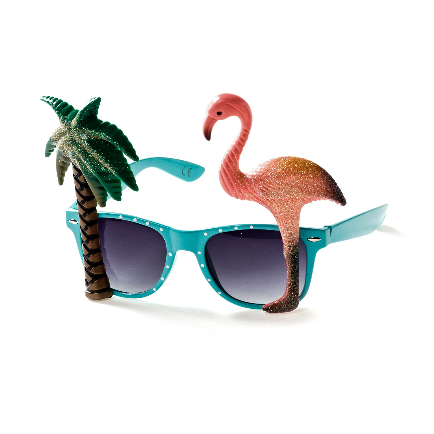 Palm Tree and Flamingo Sunglasses