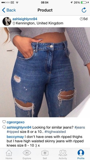 jeans jeans ripped jeans