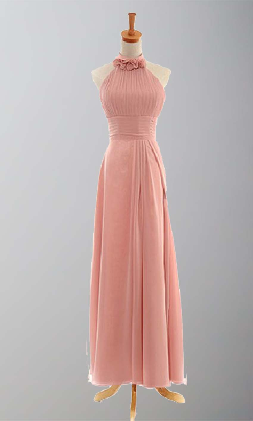 Flowery Halter Neck Empire A-line Bridesmaid Dresses KSP021 [KSP021] - £89.00 : Cheap Prom Dresses Uk, Bridesmaid Dresses, 2014 Prom & Evening Dresses, Look for cheap elegant prom dresses 2014, cocktail gowns, or dresses for special occasions? kissprom.co.uk offers various bridesmaid dresses, evening dress, free shipping to UK etc.