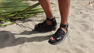 shoes black bikini black dress black heels grunge beach style sandals dress drmartens grunge shoes grunge wishlist shorts leather jacket leather sandals leather strappy heels straps jelly shoes jelly bean socks nail polish nail accessories formal dress cute