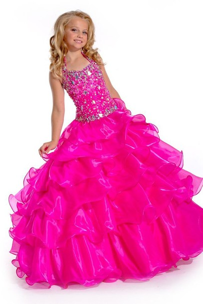 Dress Big Fat Gypsy Wedding Girls Prom Dress Girls Pageant Dress