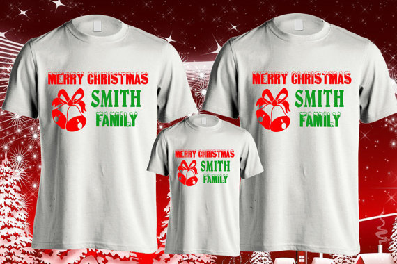 38a8a1511afc Christmas family shirts, Merry Christmas family, Family Christmas shirts,  Customized Christmas Shirt, Family customized shirts