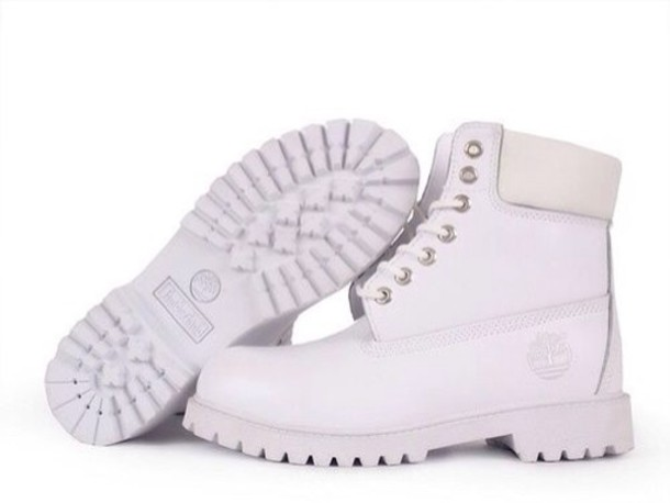 White Timberlands - Shop for White Timberlands on Wheretoget