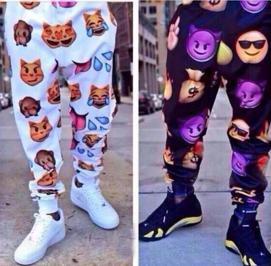 Unisex emoji sweatpants