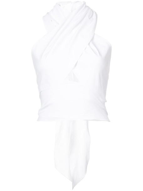 Tome top women white cotton