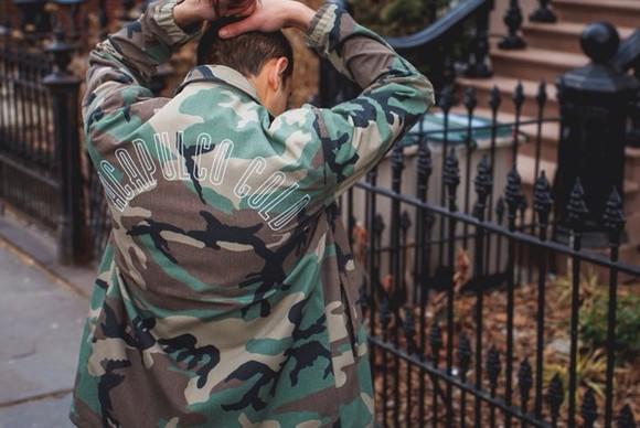 jacket camouflage mens jacket