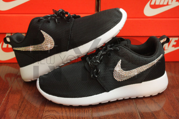 shoes roshe one nike roshe run nike women swarovski bling nike roshe run  nike sneakers nike d0783bc37a