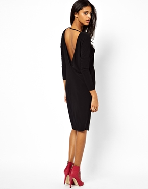 ASOS | ASOS Slouch Back Dress at ASOS