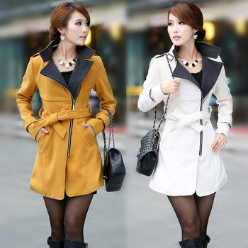 014 Luxury British Style Women Winter Long Wool Down Thick Ladies Casual Dress Outerwear Coat/Fashion Abrigo Femininos WT4063 | Amazing Shoes UK