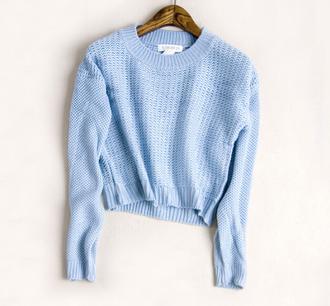 sweater crop tops the sweater knitwear