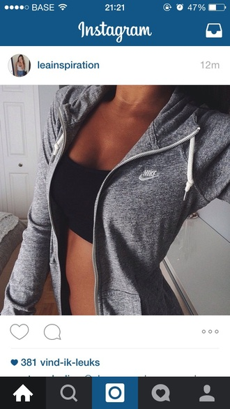 cardigan grey nike white jacket top nike jacket grey hoodie nike sweatshirt nike sportswear dope streetwear style hoodie cute tumblr nike hoodie fashion tumblr outfit sweater grey sweater nike sportswear gray charcoal grey jacket dark girly coat zip fitness gray hoodie nike gray jacket